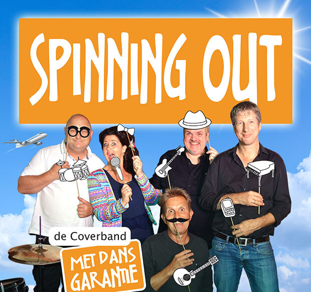Spinning Out coverband boeken